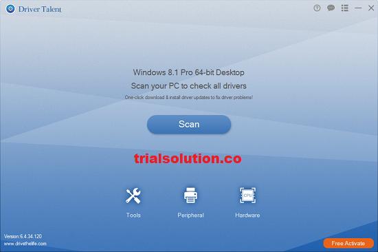 Driver Talent Pro 7.1.28.112 Crack Plus Activation Key 2020 Free