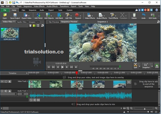 VideoPad Video Editor 8.32 Crack With Registration Key 2020 Free