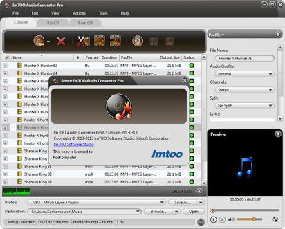 Xilisoft Audio Converter Pro 6.5.1 Crack With Product Key 2021 [Latest] Free