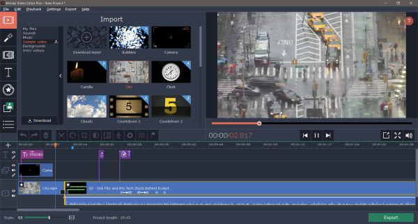 Movavi Video Editor 21.1.0 Crack With Product Key 2021 [Latest] Free Download
