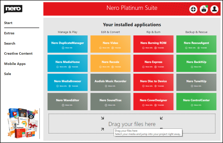 Nero Platinum 23.5.1010 Crack With Product Key 2021 Free Download