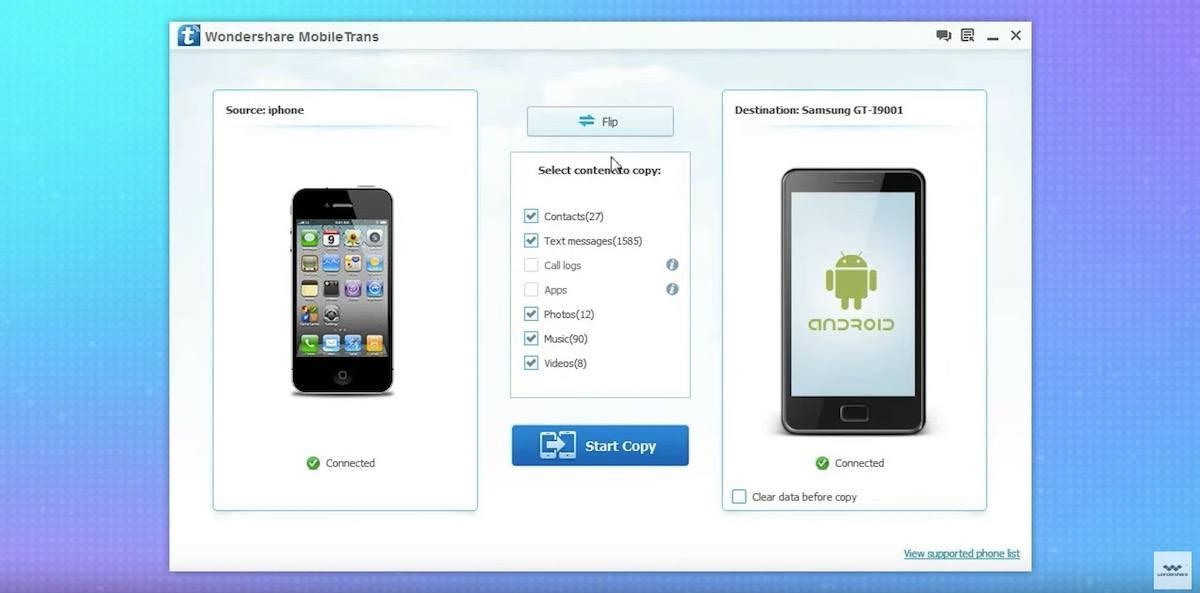 Wondershare MobileTrans 8.1.0 Crack With Product Key 2021 [Latest] Free