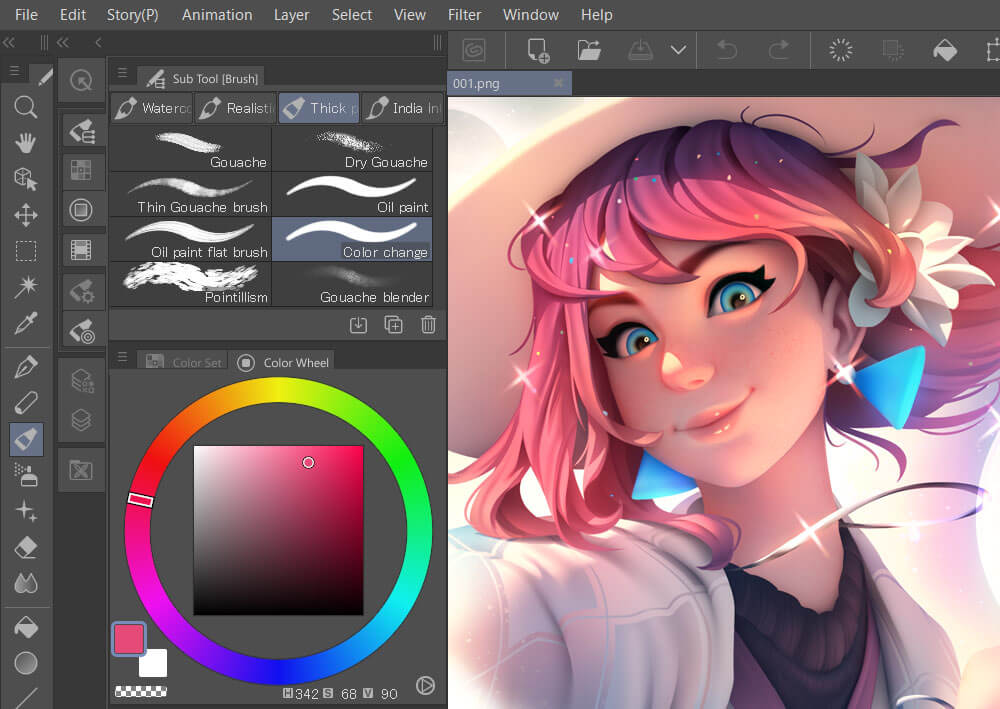 Clip Studio Paint 1.10.6 Crack With Product Key 2021 [Latest] Free Download