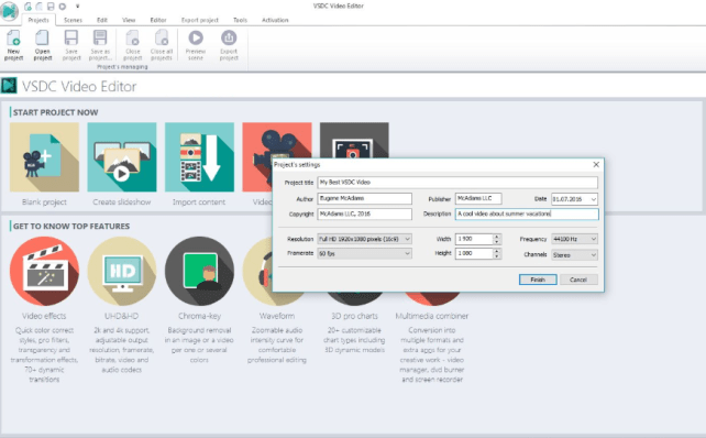 VSDC Free Video Editor 6.6.5.268 Crack With Product Key 2021 [Latest] Free