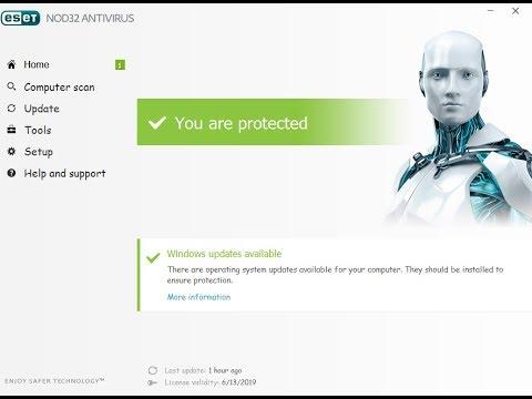 ESET NOD32 Antivirus 14.0.22.0 Crack With Product Key 2021 [Latest] Free